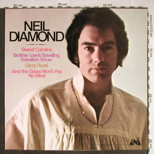 Diamond,Neil: Sweet Caroline, Promo-Stol, UNI(MAPS 1365), D, 1973 - LP - H7938 - 5,50 Euro