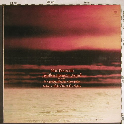 Diamond,Neil: Jonathan Livingston Seagull, Foc, CBS(KS 32550), CDN, 1973 - LP - H7948 - 4,00 Euro