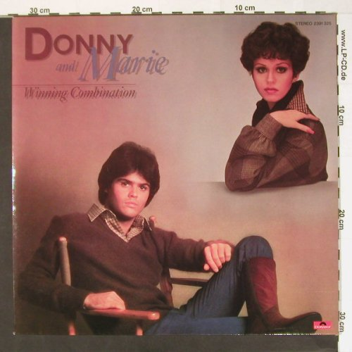Osmond,Donny & Marie: Winning Combination, Polydor(2391 325), D, 1977 - LP - H7960 - 5,50 Euro