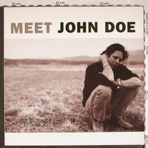 Doe,John: Meet, Geffen(), D, 1990 - LP - H7961 - 5,50 Euro