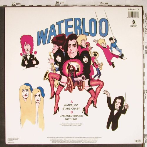 Doctor & the Medics: Waterloo+3, with Roy Wood, IRS(650227 6), NL, 1986 - 12inch - H7964 - 4,00 Euro