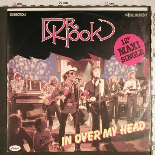 Dr.Hook: In Over My Head/I don'f feel..., Capitol(052-86 196), D, 1979 - 12inch - H7994 - 2,50 Euro