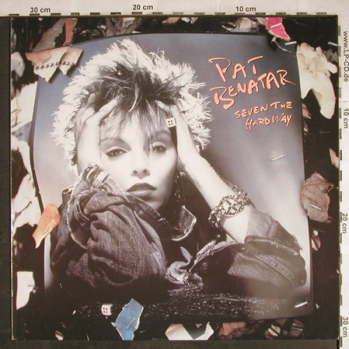 Benatar,Pat: Seven The Hard Way, Chrysalis(207 429-630), D, 1985 - LP - H8031 - 5,00 Euro