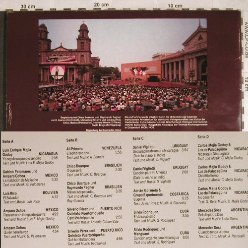 V.A.April in Managua: Das Konzert f.d.Frieden in Mittelam, tvd, Live(tvd 8301), D, 1977 - 2LP - H8038 - 7,50 Euro
