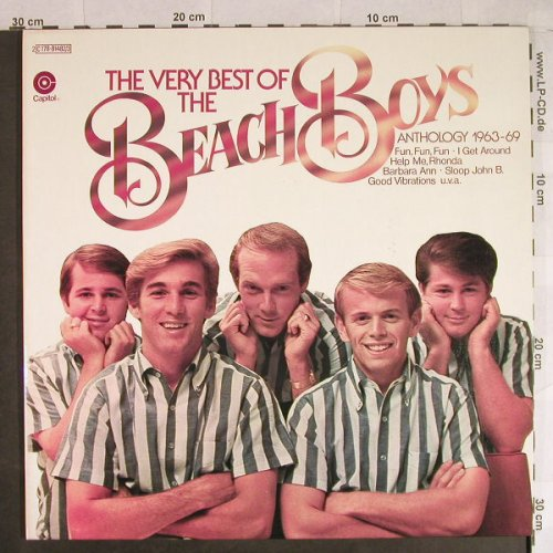 Beach Boys: The Very Best Of-Anthology 63-69, Capitol(C178-81482/3), F, Foc, 1974 - 2LP - H832 - 9,00 Euro