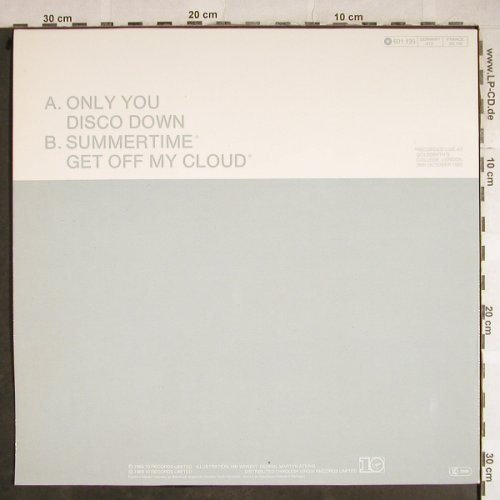 Flying Pickets: Only You+3, 10 Records(601 135-213), D, 1983 - 12inch - H8343 - 2,50 Euro