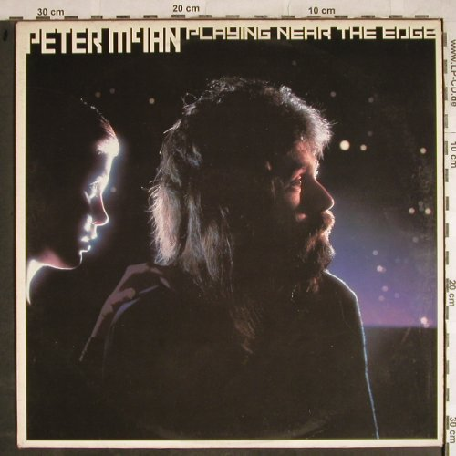 McIan,Peter: Playing near the edge, vg+/vg+, CBS,Promo-Stoc(CBS 84 205), NL, 1980 - LP - H8399 - 3,00 Euro