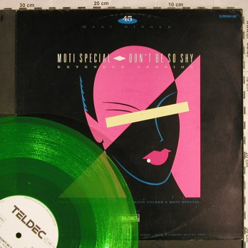Moti Special: Don't Be So Shy(Ext)+1,green vinyl, Teldec(6.20444 AE), D, 1985 - 12inch - H8448 - 2,50 Euro