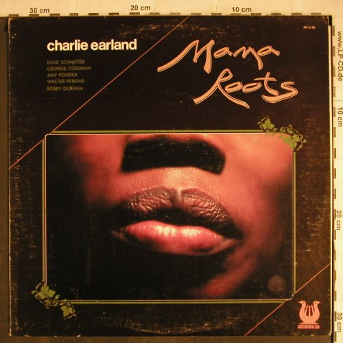 Earland,Charlie: Mama Roots, vg+/vg+, Muse Record(MR 5156), US, 1978 - LP - H8459 - 10,00 Euro