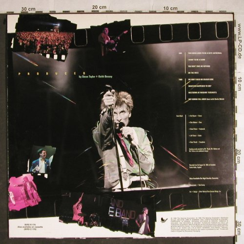 Taylor,Steve and Some Band: Limelight, Live at Greenbelt, Sparrow Records(BIRD R 176), UK, 1986 - LP - H8480 - 6,00 Euro
