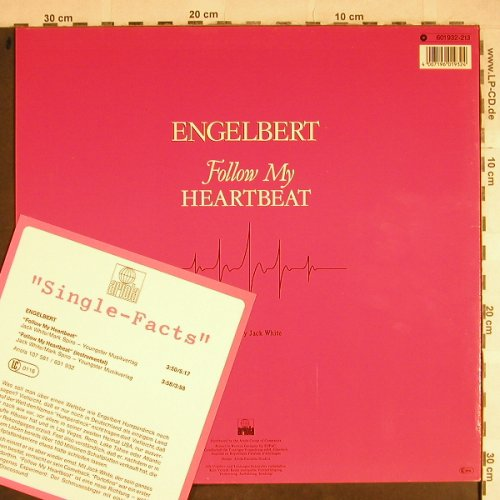 Engelbert: Follow My Heartbeat*2, Arista(601 932), D, 1985 - 12inch - H8504 - 2,50 Euro