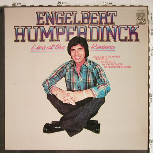 Engelbert Humperdinck: Live At The Riviera, MFP(MFP 50344), UK, 1971 - LP - H8661 - 5,00 Euro