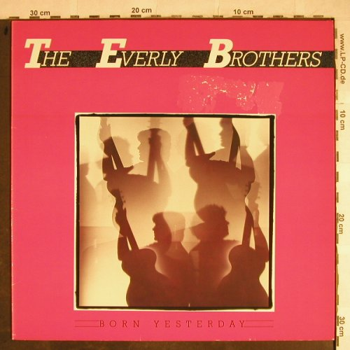 Everly Brothers: Born Yesterday, m-/vg+, Mercury(826 142-1 Q), D, 1985 - LP - H8669 - 4,00 Euro