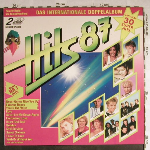 V.A.Hits'87: Das Internationale Doppelalbum, Ariola(303 156), D, 1987 - 2LP - H8769 - 5,00 Euro