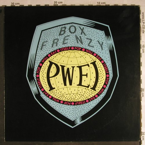 Pop Will Eat Itself: Box Frenzy, m-/vg+, Chapter 22(RTD 64), UK, 1987 - LP - H8777 - 6,00 Euro
