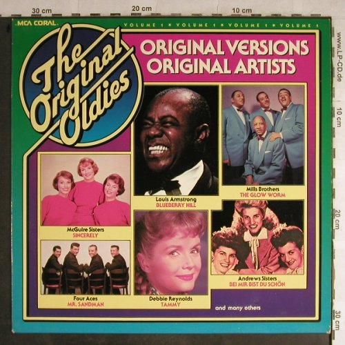 V.A.Original Oldies Vol.1: L.Armstrong...Mills Brothers, MCA(0052.050), D, 1978 - LP - H9011 - 4,00 Euro