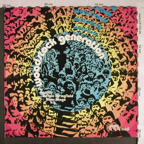 V.A.Woodstock Generation Vol.1: Electric Prunes...Beast, 12 Tr., Midi(MID 28 001), D, Ri,  - LP - H957 - 9,00 Euro