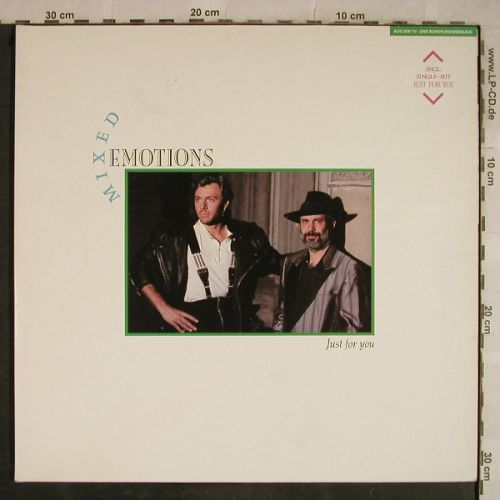 Mixed Emotions: Just For You, Foc, EMI(066-7 91275 1), D, 1988 - LP - H9584 - 4,00 Euro
