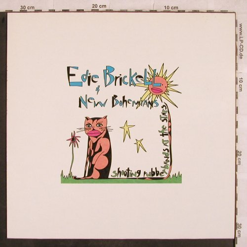Brickell,Eddie & New Bohemia: Shooting Rubberbands At The Stars, Geffen(924 192-1), D, 1988 - LP - H9643 - 5,00 Euro