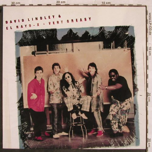 Lindley,David & El Rayo-X: Very Greasy, Elektra(960 768-1), D, 1988 - LP - H9672 - 6,00 Euro