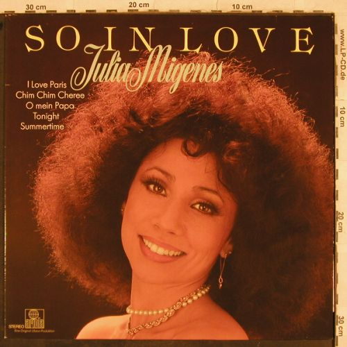 Migenes,Julia: So In Love, Ariola(200 839-366), D,  - LP - H9675 - 6,00 Euro