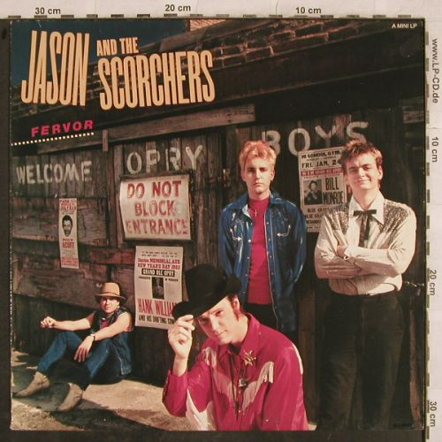 Jason & The Scorchers: Fervor, EMI(2400801), NL, 1984 - LP - H9700 - 5,00 Euro
