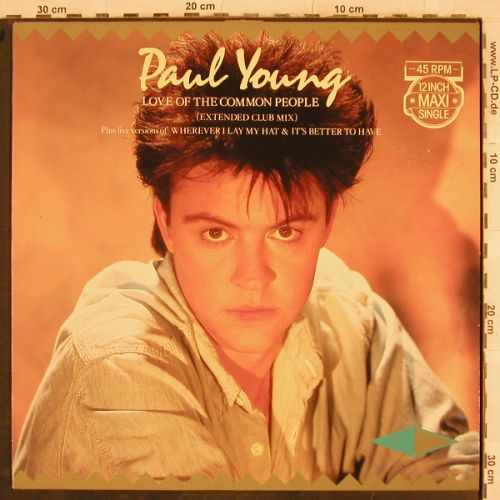 Young,Paul: Love Of The Common People+2, CBS(A12-3585), NL,m-/vg+, 1983 - 12inch - H9723 - 2,00 Euro