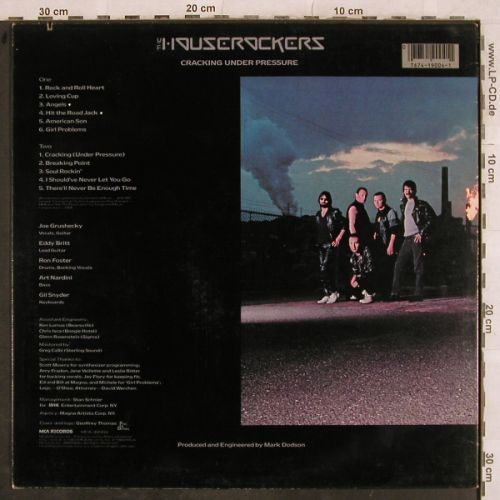 Houserockers, The: Cracking Under Pressure, MCA(MCA39004), US, co, 1983 - LP - H9756 - 6,00 Euro