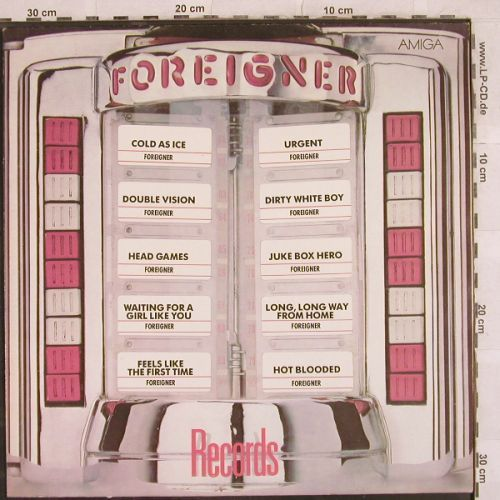 Foreigner: Records, Amiga(8 56 104), DDR, 1985 - LP - H9872 - 5,00 Euro
