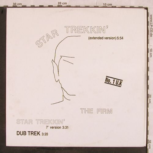 Firm,The: Star Trekkin'*3, Teldec(6.20775 AE), D, 1987 - 12inch - H9879 - 3,00 Euro