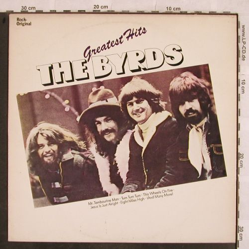 Byrds: Greatest Hits, Embassy(EMB 31381), NL, 1976 - LP - H9880 - 5,00 Euro