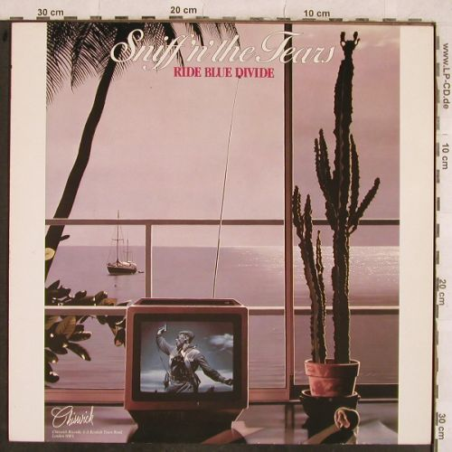 Sniff'n'The Tears: Ride Blue Divide, Chiswick(A120CWK3020), F, 1982 - LP - H9895 - 5,50 Euro