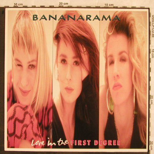 Bananarama: Love In The First Degree*2+1, Metronome(886 202-1), D, 1987 - 12inch - H9938 - 4,00 Euro