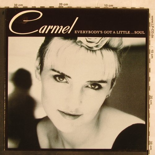 Carmel: Everybody's Got A Little...Soul, London(828 067-1), D, 1987 - LP - H9952 - 5,50 Euro