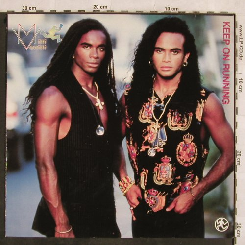 Milli Vanilli: Keep On Running*3+1, Hansa(613 813), D, 1990 - 12inch - H9962 - 3,00 Euro