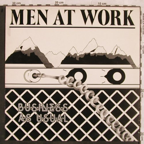 Men At Work: Business As Usual, CBS(CBS 85423), A, 1981 - LP - H9983 - 4,00 Euro