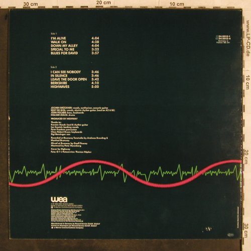 Highway: Highwaves, WEA(24.0012-1), D, 1982 - LP - H9996 - 6,00 Euro