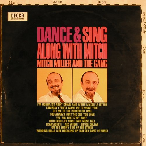 Miller,Mitch and the Gang: Dance & Sing Along With, m-/vg+, Decca(SLK 86020-P), D,  - LP - X1071 - 6,00 Euro