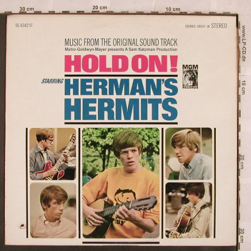 Herman's Hermits: Hold On ! - from Soundtrack, MGM(SE-4342ST), US, co,  - LP - X110 - 7,50 Euro