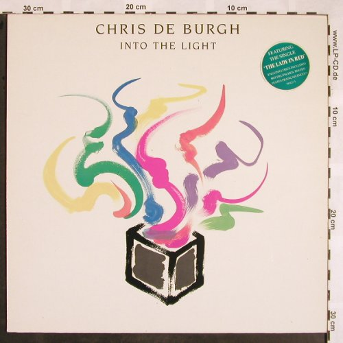 De Burgh,Chris: Into The Light, AM(395 121-1), D, 1986 - LP - X1252 - 5,00 Euro