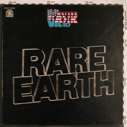 Rare Earth: Masters Of Rock Vol.10, Rare Earth(C 054-95 926), D,  - LP - X1314 - 9,00 Euro