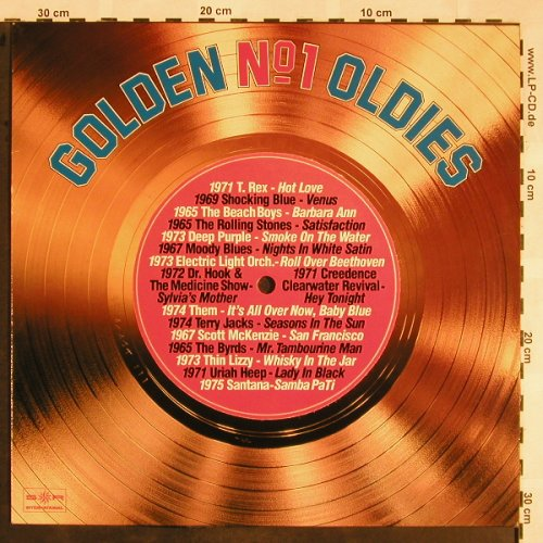 V.A.Golden No.1 Oldies: Vol.1-Rolling Stones...This Lizzy, SR(30 865 0), D,  - LP - X1321 - 7,50 Euro