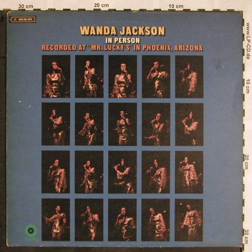 Jackson,Wanda: In Person - Live at Mr.Lucky's, Capitol(C 052-80 229), D,  - LP - X1377 - 12,50 Euro