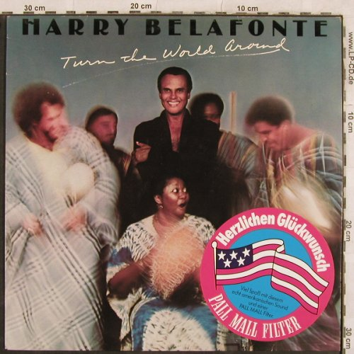 Belafonte,Harry: Turn The World Around, stoc, CBS(CBS 88045), NL, 1977 - LP - X137 - 4,00 Euro