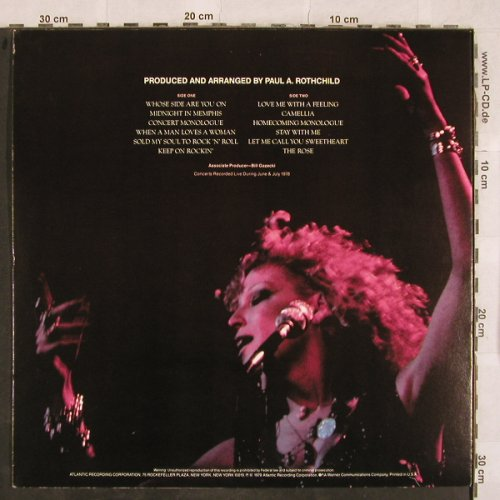 Midler,Bette / Alan Bates: The Rose, Soundtrack, Atlantic(SD 16010), US, 1979 - LP - X142 - 6,00 Euro