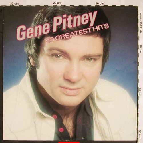 Pitney,Gene: 20 Greatest Hits, m-/vg+, AFE(AFEMP 1004), UK, 1981 - LP - X1445 - 5,00 Euro