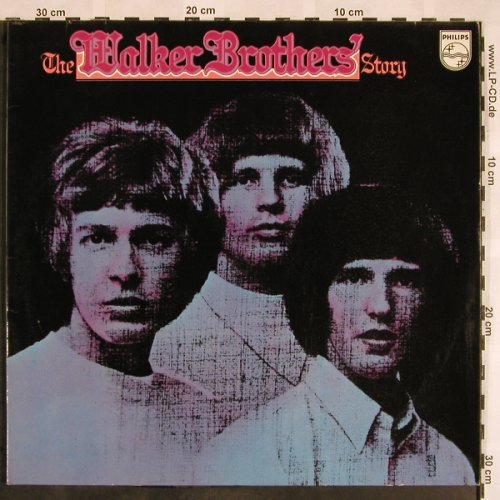 Walker Brothers: The W.B.Story, Foc, Ri, Philips(6640 004), D,  - 2LP - X1467 - 7,50 Euro