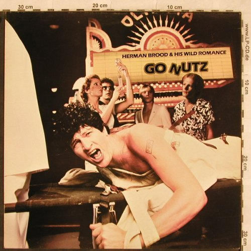Brood,Herman & His Wild Romance: Go Nutz, Ariola(ARL 5044), UK, 1980 - LP - X153 - 6,00 Euro