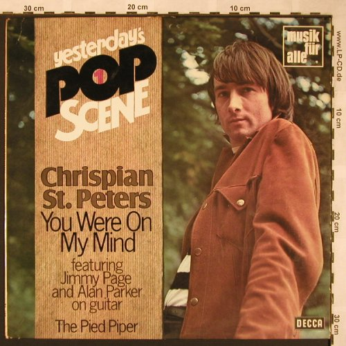 St.Peters,Chrispian: Yesterday's Pop Scene, vg+/vg+, Decca Musik für Alle(ND 689), D,  - LP - X1546 - 7,50 Euro