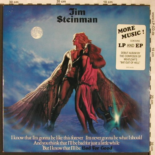 Steinman,Jim: Bad For Good +EP, Epic(84361), NL, 1981 - LP - X1640 - 7,50 Euro